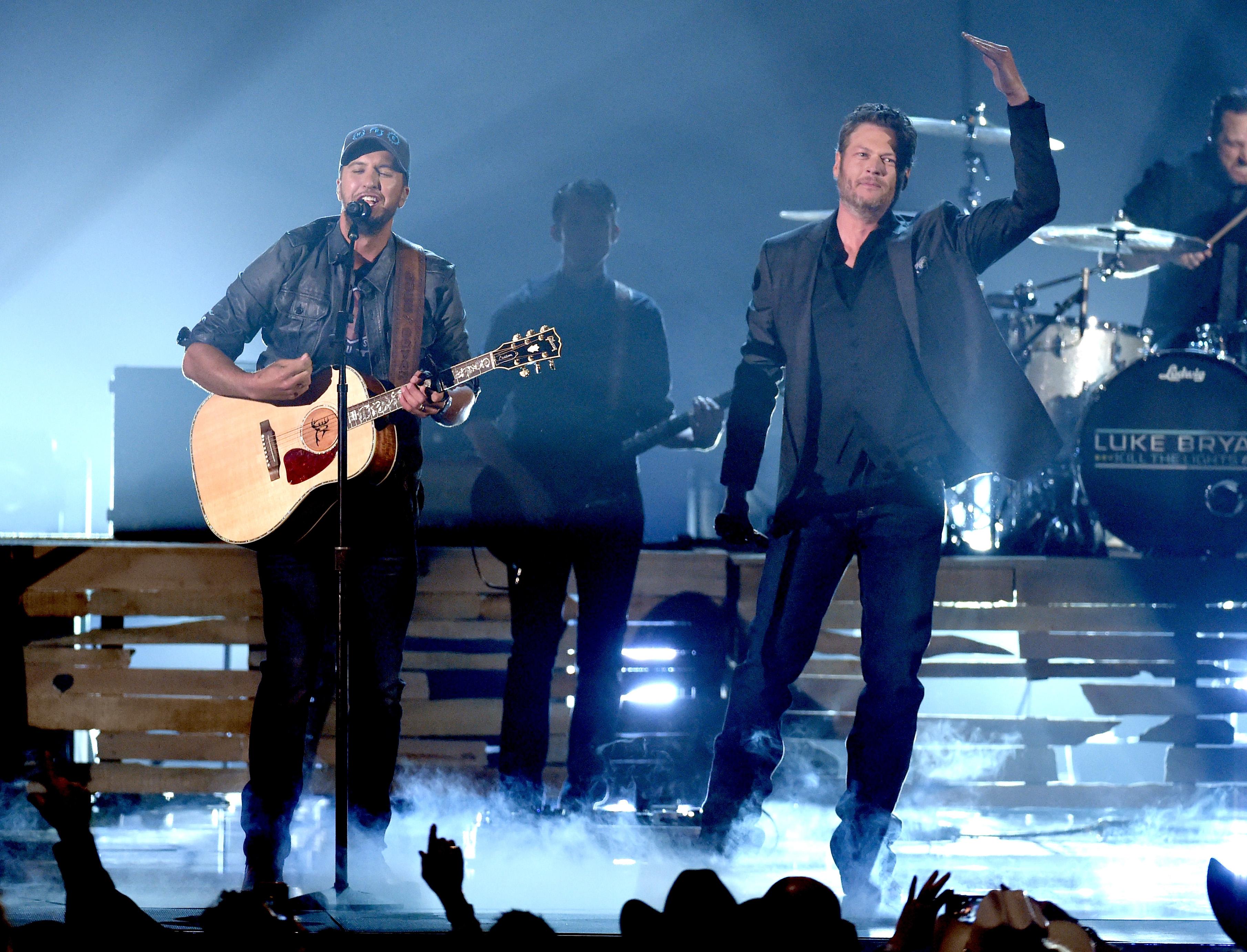 Blake Shelton sang about Gwen Stefani in front of ex Miranda Lambert