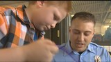 Houston boy thanks first responders who saved his life