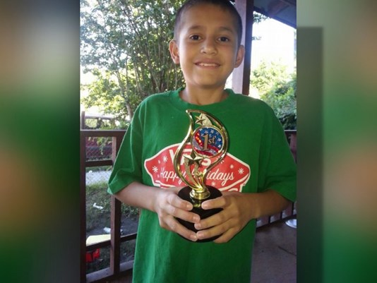 Man charged in stabbing death of 11-year-old Houston boy