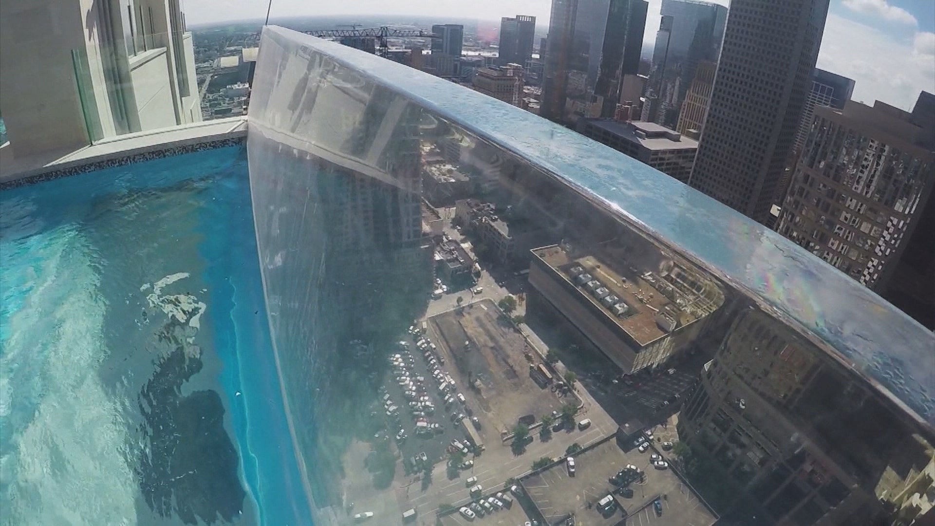 Sky High Houston Swimming Pool Trending Again Amid