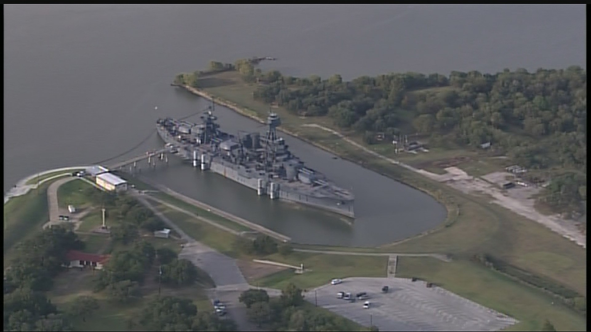 Battleship texas to reopen sunday after leak for La porte tx breaking news
