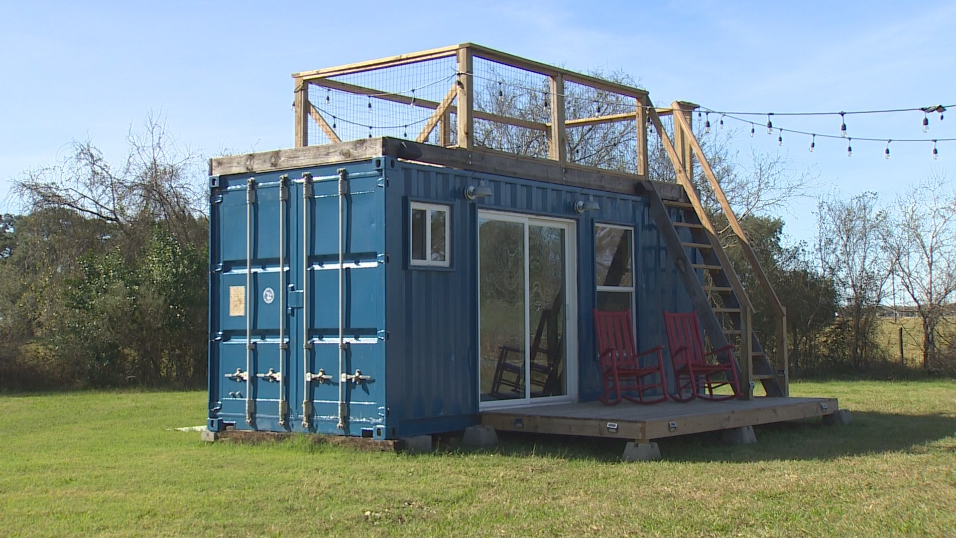 engineer leaves oil business to make shipping container homes