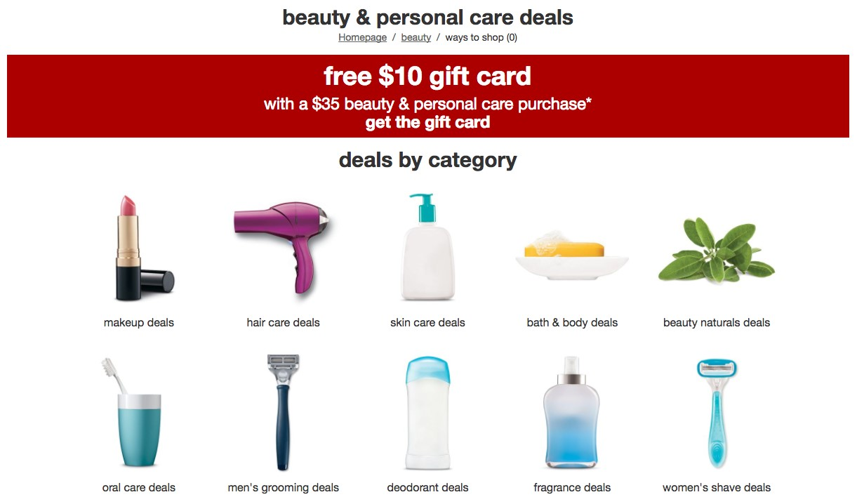 White apron at target