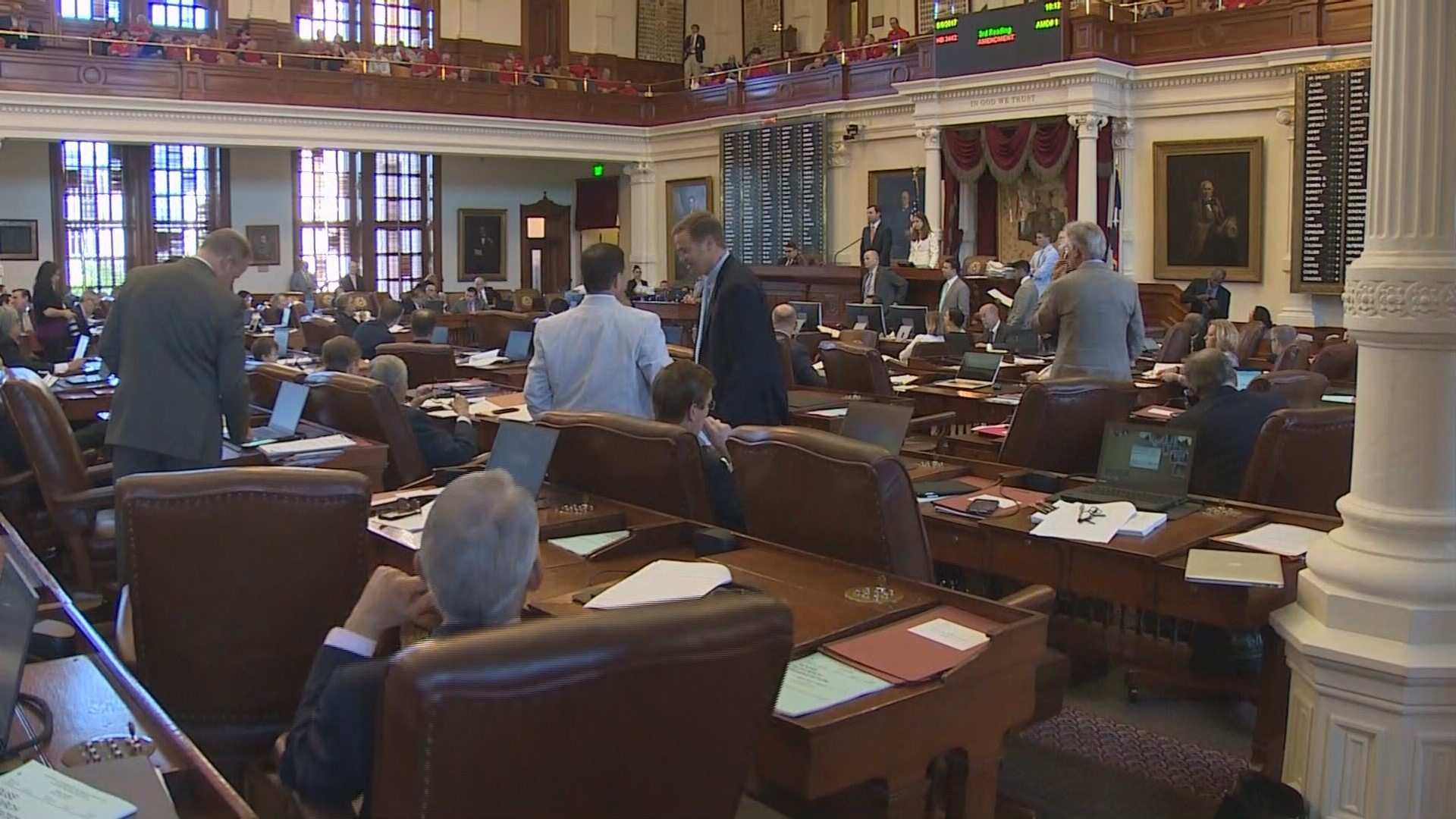 House Pension Vote