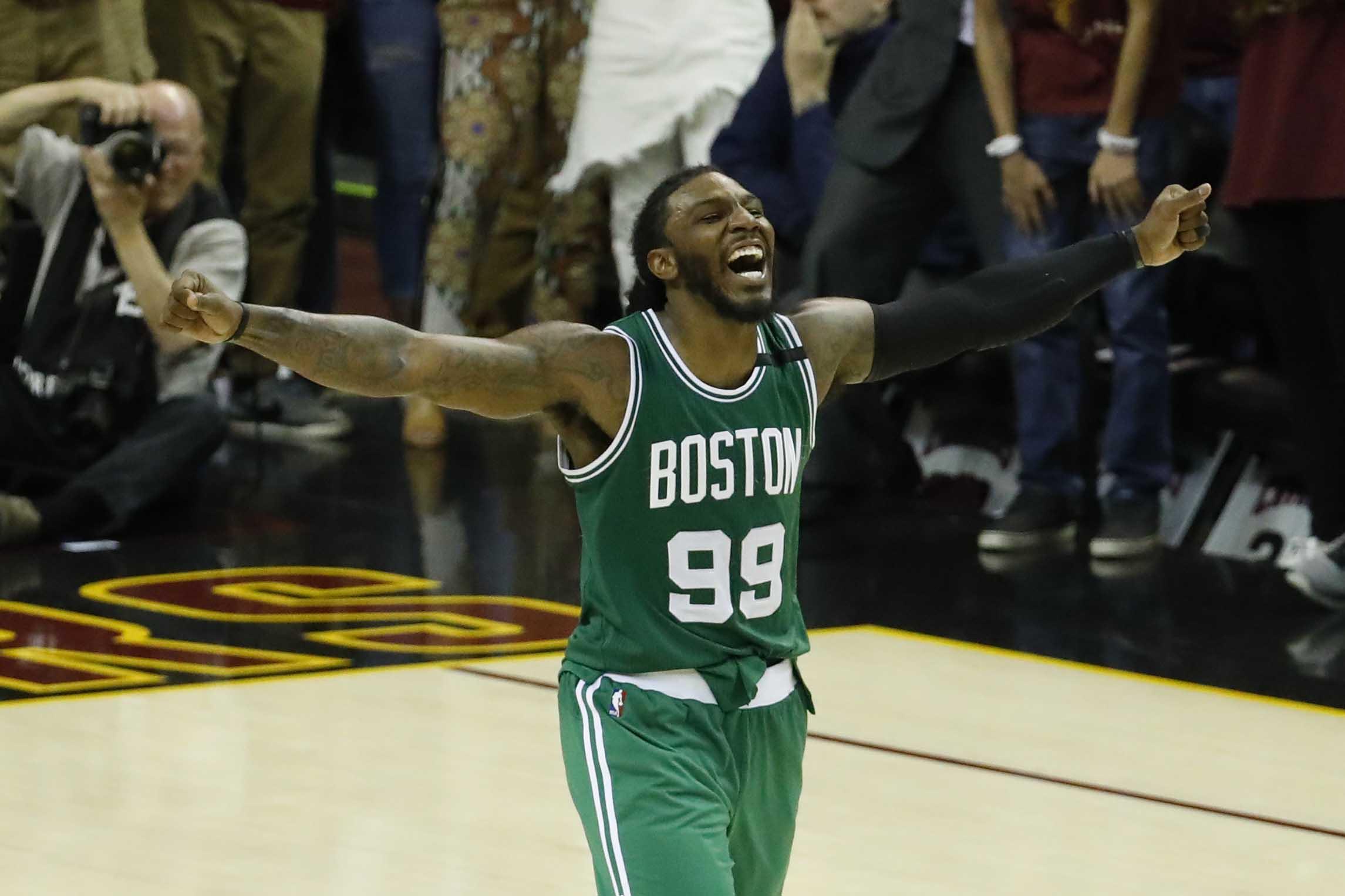 Blue apron jersey city fight - Celtics Rally From 21 Down Stun Cavaliers On Avery Bradley Game Winner Khou Com