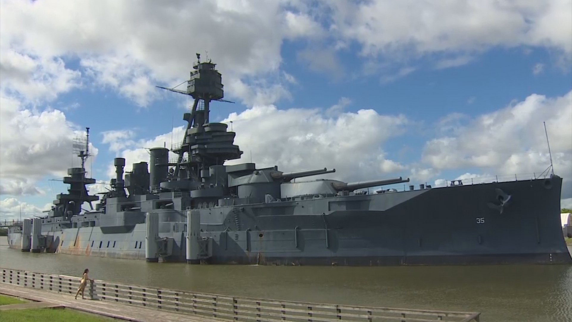 Battleship texas faces funding emergency for La porte tx breaking news