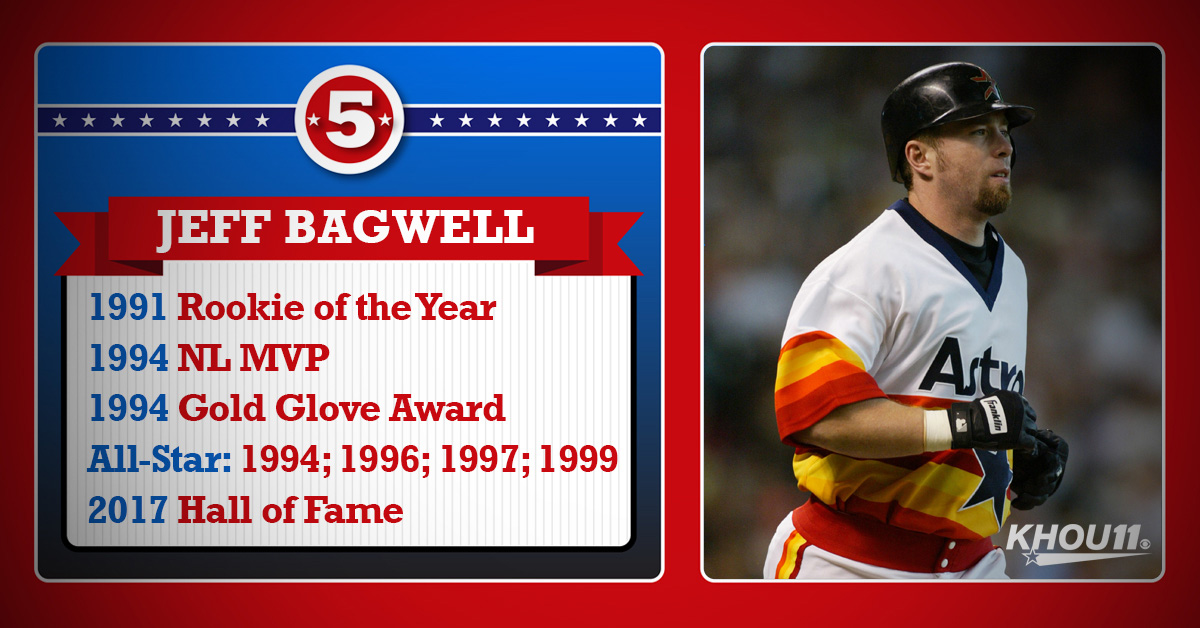 Jeff Bagwell's Accolades