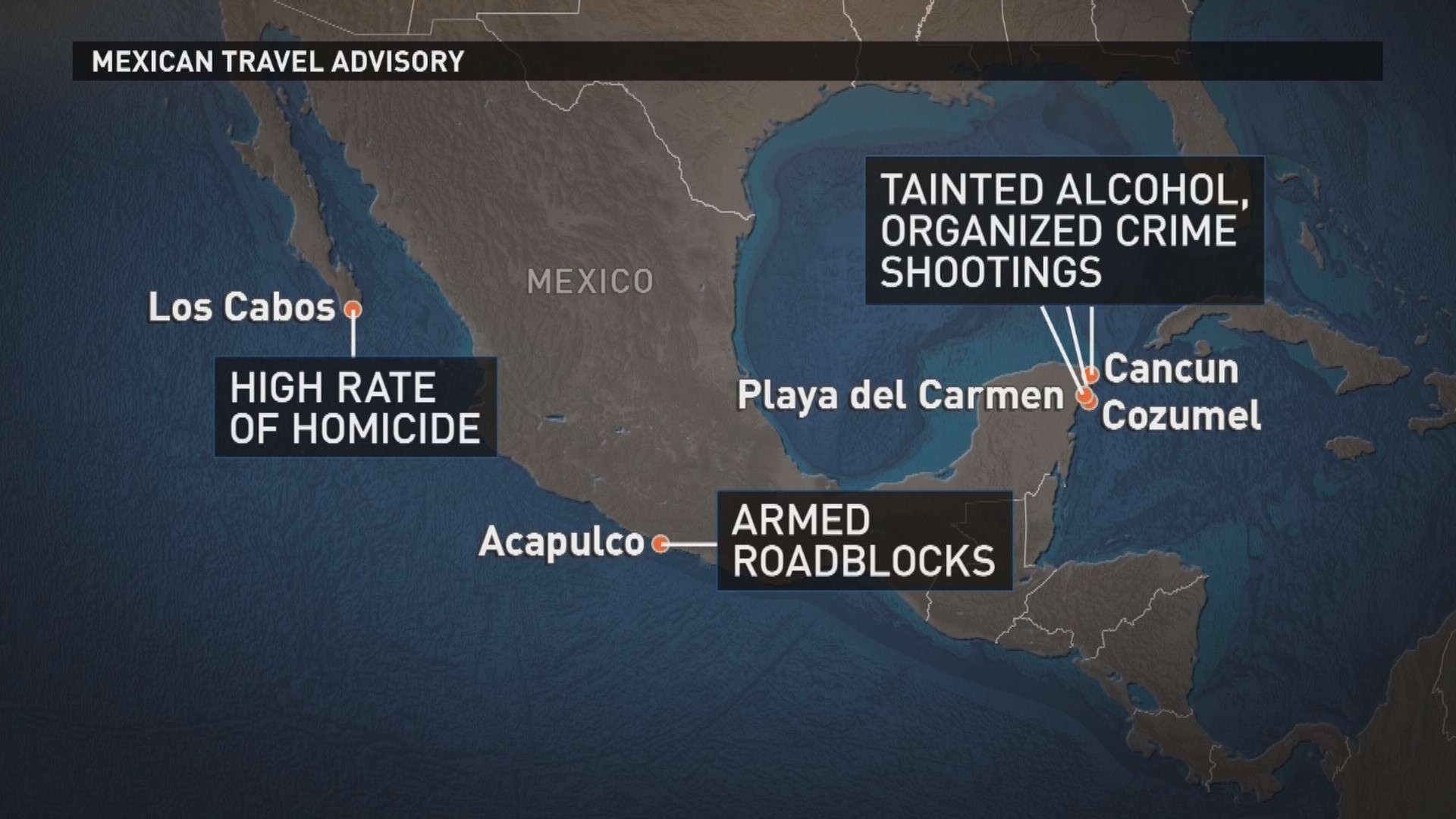 Current Us State Department Travel Warnings Mexico