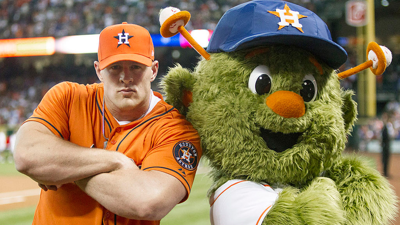 J.J. Watt will throw out first pitch in Game 3 at Minute Maid