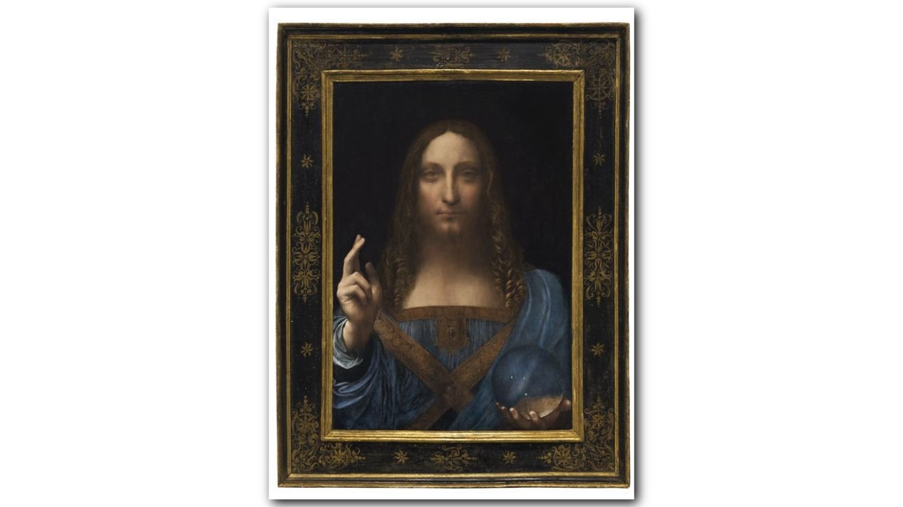 Leonardo da Vinci\u0027s Christ painting sells for record $450M | khou.com