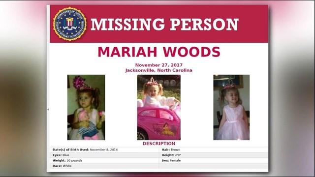 Missing NC Toddler