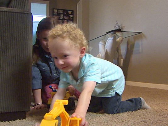 League City toddler meets donor who saved his life