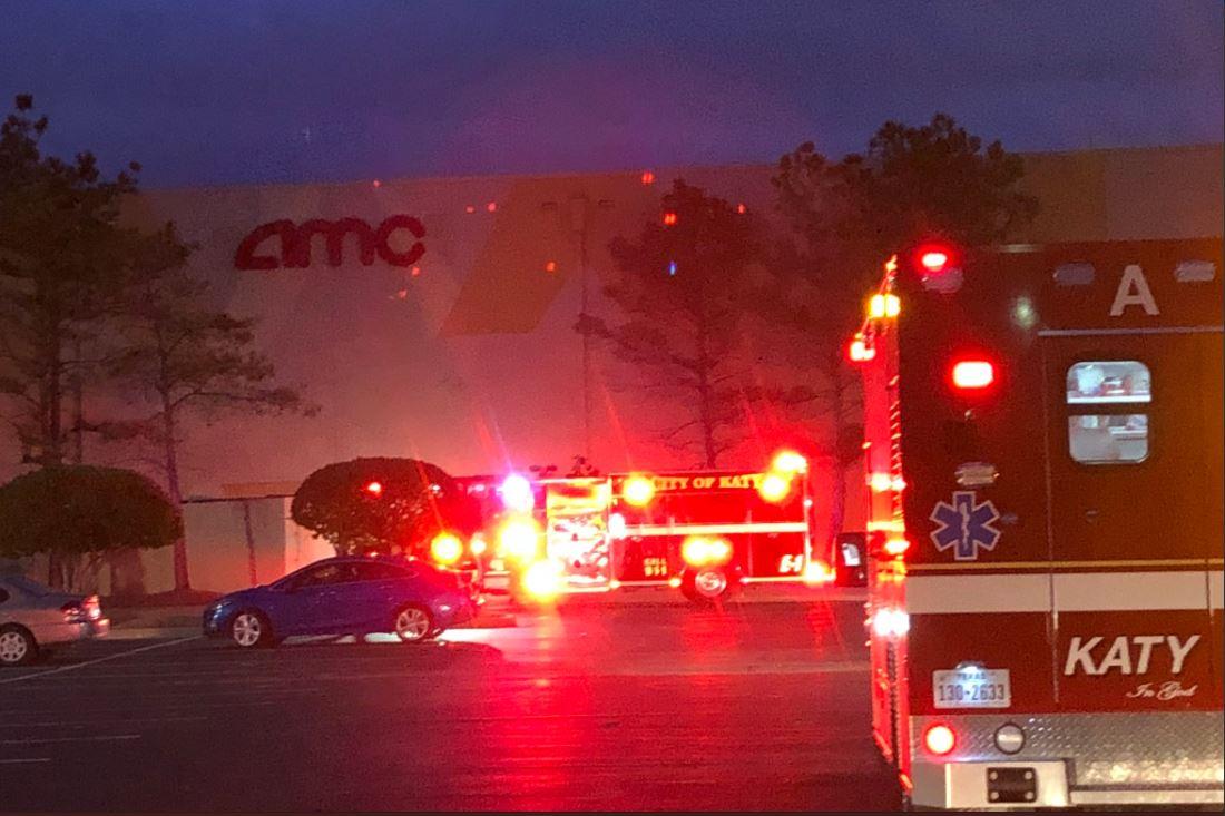 khoucom movie theater inside katy mills mall evacuated