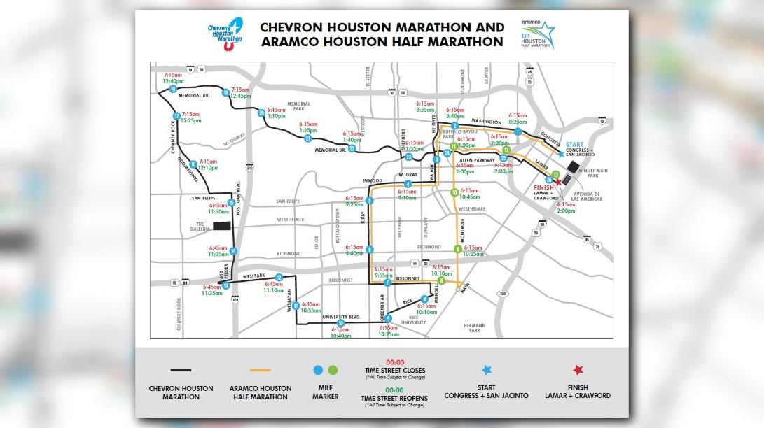 Marathon Map