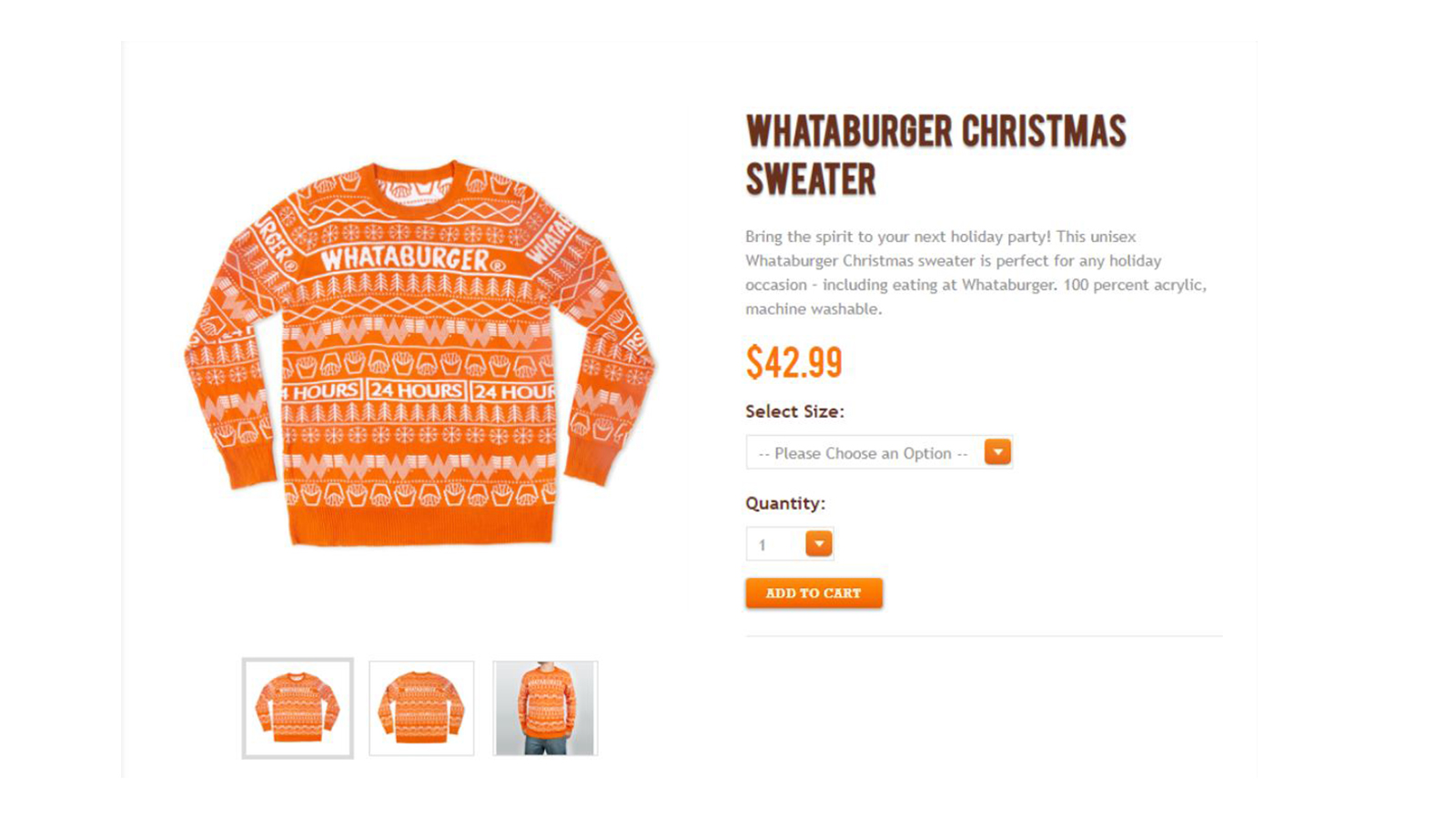 Whataburger Christmas sweaters already sold out, but more are on the ...